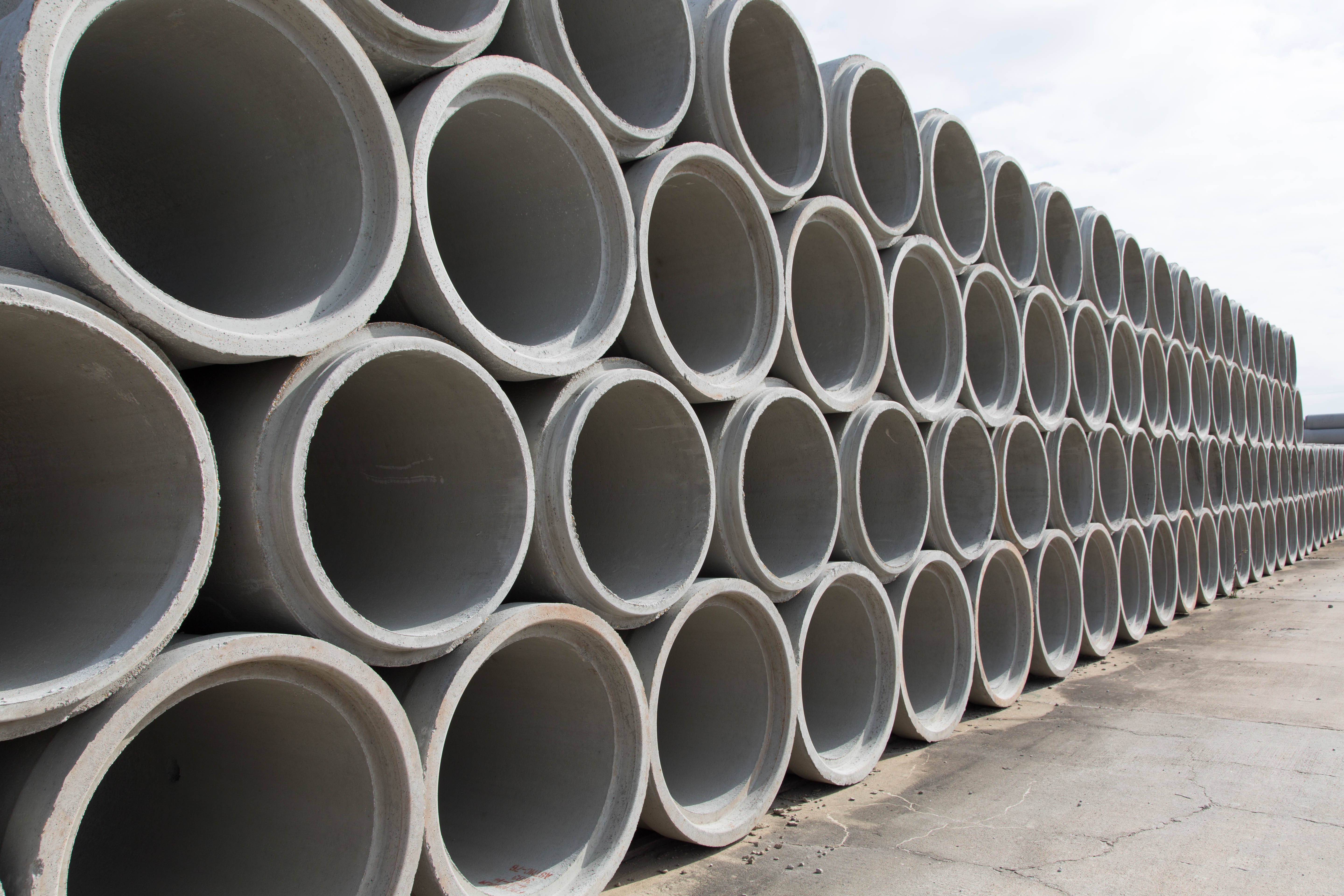 Concrete Pipe For Sale | Concrete Round Pipe