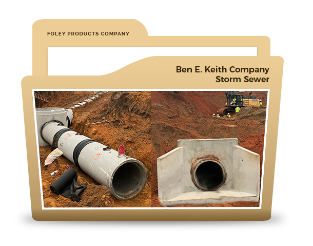 Ben E. Keith Company Storm Sewer